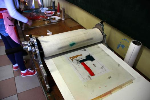 impression monotypes