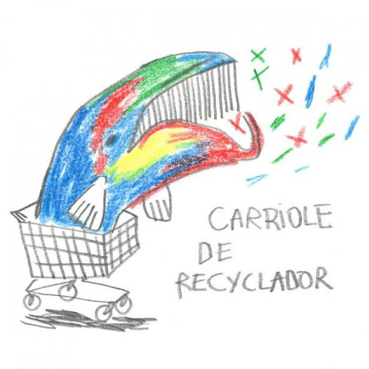 Carriole de recyclador