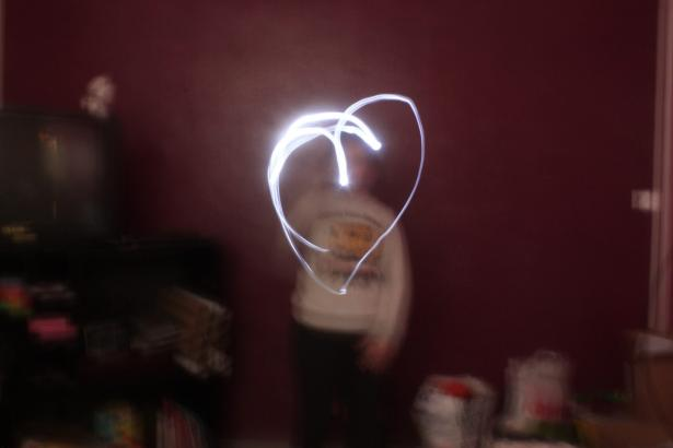 Le light painting