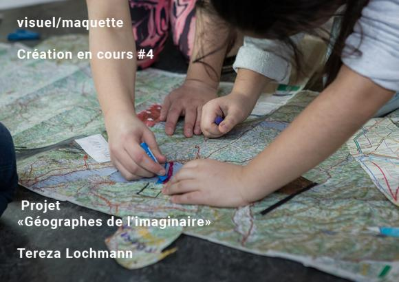 Géographes de l'imaginaire, dessin, reconstruction, documentation AIMS, carte