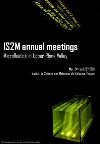 "Exposition congrès ""Microfluidics in Upper Rhine Valley"""