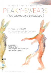 Affiches PEAKY-SWEARS (les promesses patraques)