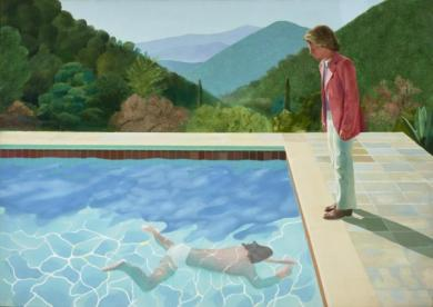 Hockney, David, Portrait of an Artist (Pool with Two Figures), 1972