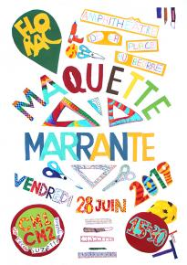 "Affiche du spectacle ""Maquette marrante"""
