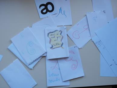 Qulques dessins de lettres
