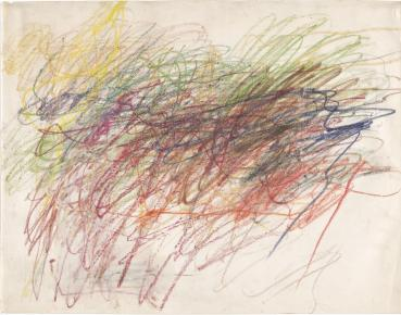 Cy Twombly. Untitled. 1954 | MoMA