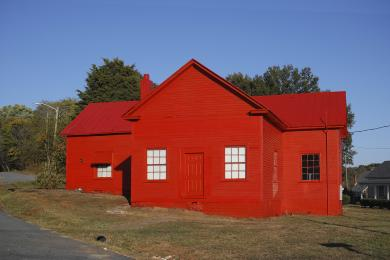 The Little Red Schoolhouse of Eden - Sylvain Couzinet-Jacques